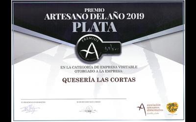 PREMIO ARTESANO DEL AÑO 2019 PLATA